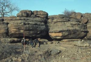 Dangandouloun rock shelter. Photo A. Mayor