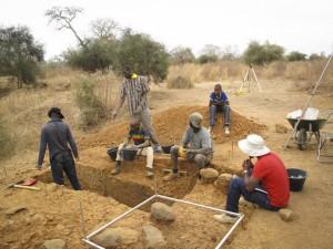 Alinguel. Excavation 2013.