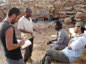 Ethnobotanic survey at Gologou.